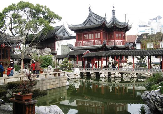 jardin du mandarin yu voyage shanghai